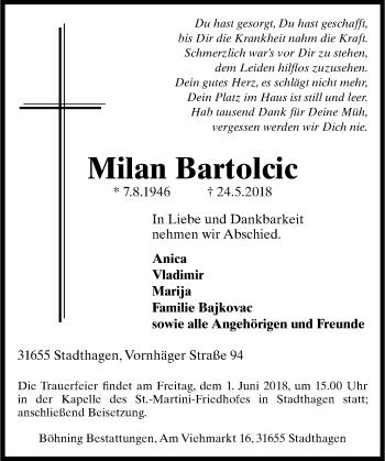 Milan Bartolcic