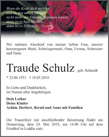 Traude Schulz