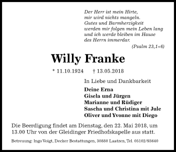 Willy Franke