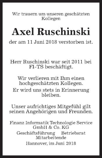 Axel Ruschinski