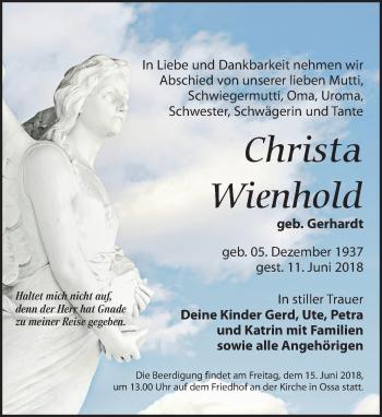Christa Wienhold