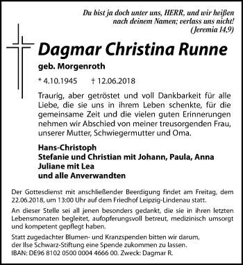 Dagmar Christina Runne