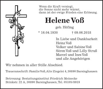 Helene Voß