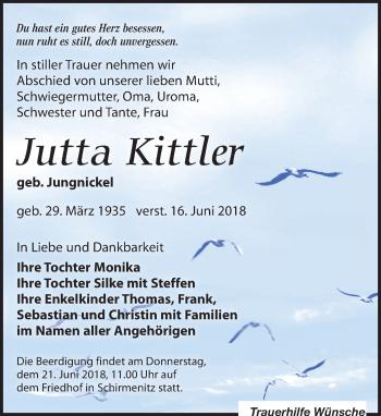 Jutta Kittler