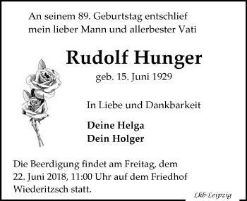 Rudolf Hunger