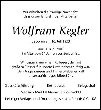Wolfram Kegler
