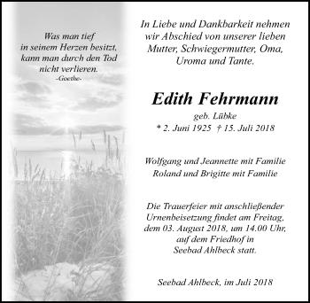 Edith Fehrmann