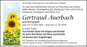Gertraud Auerbach