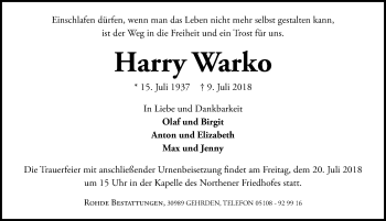 Harry Warko