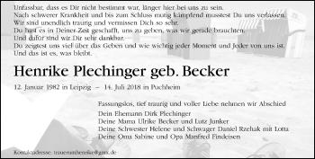 Henrike Plechinger