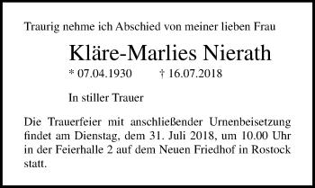 Kläre-Marlies Nierath