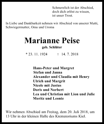 Marianne Peise