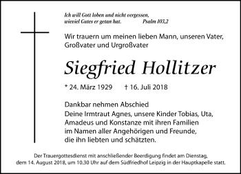 Siegfried Hollitzer