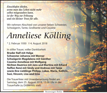 Anneliese Kölling