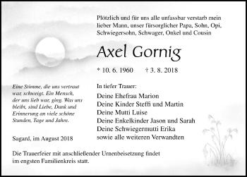 Axel Gornig
