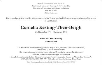 Cornelia Kesting-Then-Berg