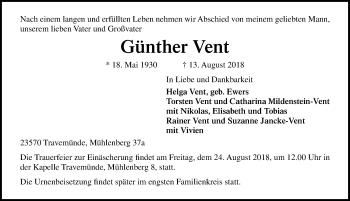 Günther Vent