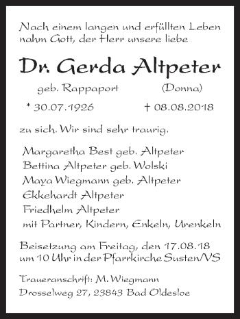 Gerda Altpeter