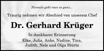 Gerhard Krüger