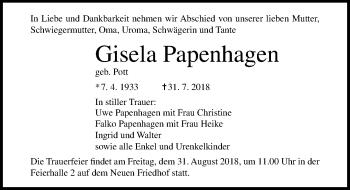 Gisela Papenhagen