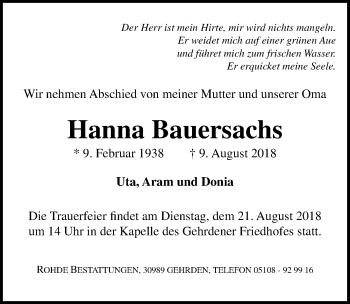 Hanna Bauersachs