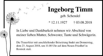 Ingeborg Timm