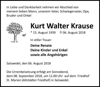 Kurt Walter Krause