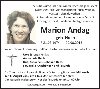 Marion Andag