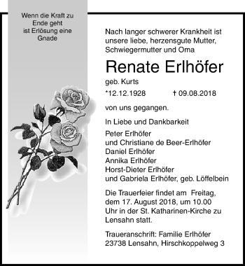 Renate Erlhöfer