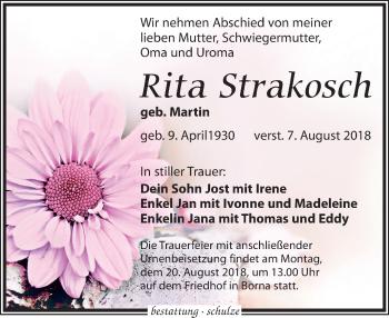 Rita Strakosch