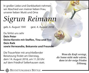 Sigrun Reimann
