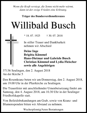 Willibald Busch