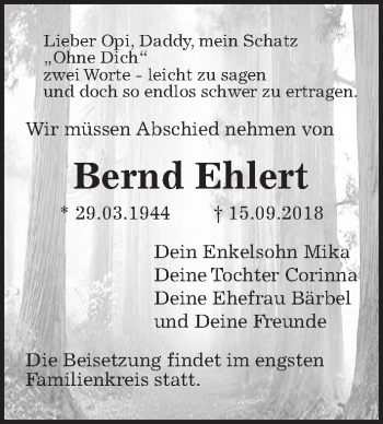 Bernd Ehlert