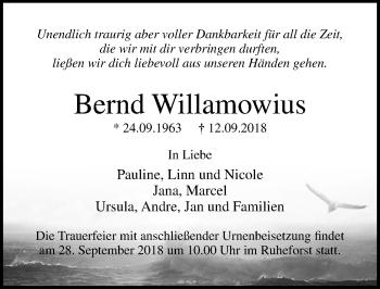 Bernd Willamowius