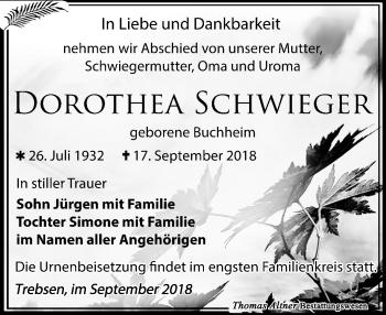 Dorothea Schwieger