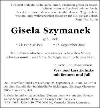 Gisela Szymanek