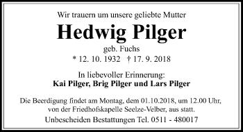 Hedwig Pilger