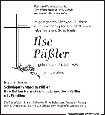 Ilse Päßler