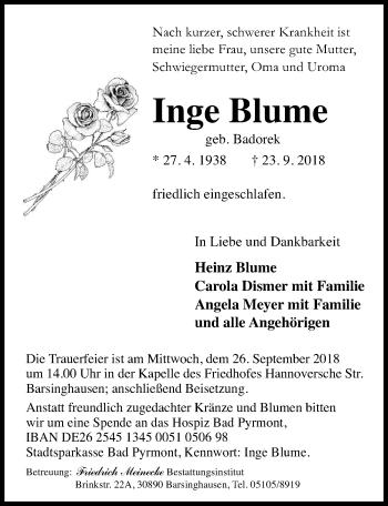 Inge Blume