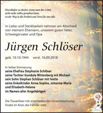 Jürgen Schlöser