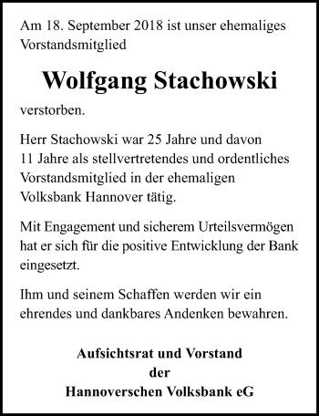 Wolfgang Stachowski