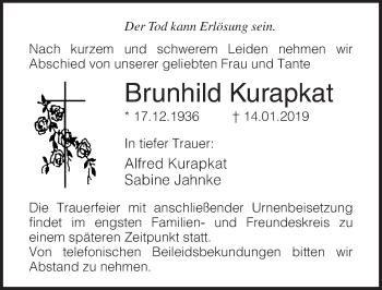 Brunhild Kurapkat