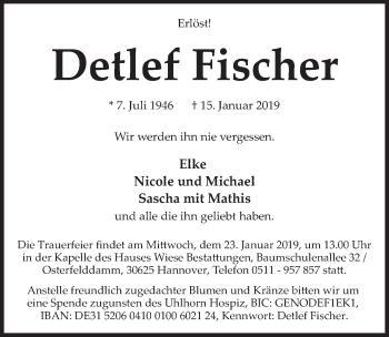 Detlef Fischer