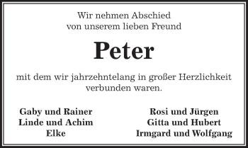 Traueranzeige für Hans-Peter Härke vom 10.01.2019 aus Peiner Allgemeine Zeitung