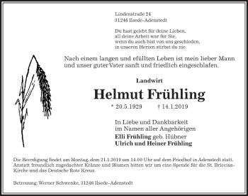 Helmut Frühling