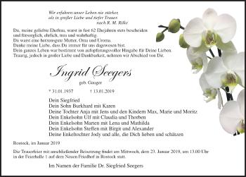 Ingrid Seegers