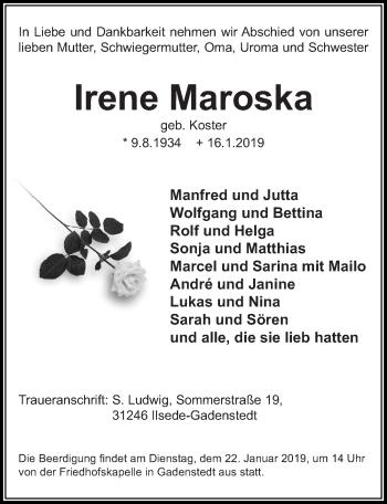 Irene Maroska