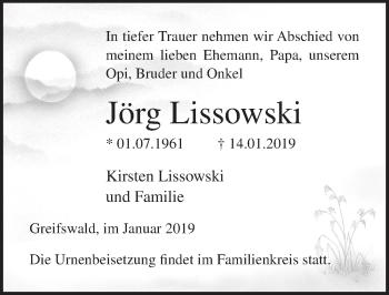 Jörg Lissowski