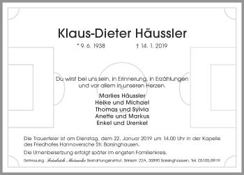 Klaus-Dieter Häussler