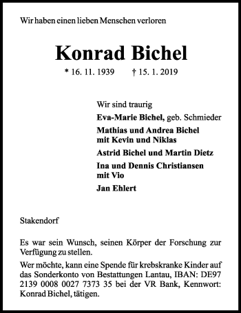 Profilbild von Konrad Bichel